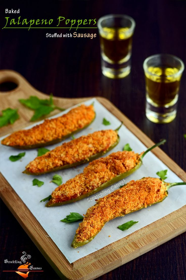 Oil Baked Jalapeno Poppers | Things I would like to try ...