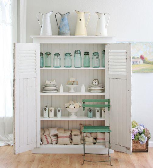 Ocean Blue Bedroom Decor Bedroom Diy Farmhouse Bedroom Lighting Bedroom Cabinet Design: 49 Best Old Enamel Cabinets Images On Pinterest