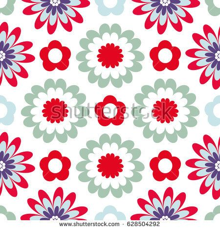 Seamless vector background with fabulous flowers for printing on fabric, paper, gift wrapper, household goods, interior. Beautiful flower blossoms on a white background. Bright floral pattern.
