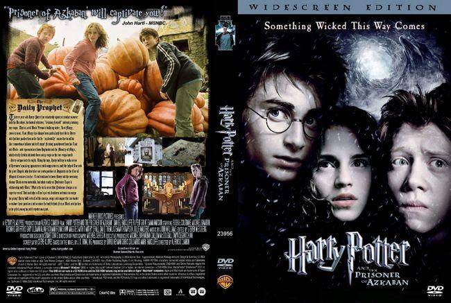 Harry Potter And The Prisoner Of Azkaban Dvd Cover In 2021 Azkaban Dvd Covers Prisoner Of Azkaban