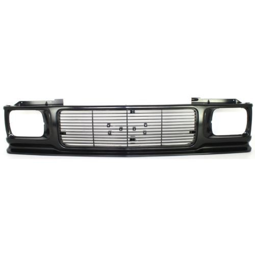 1992-1994 GMC Jimmy Grille, Textured Black