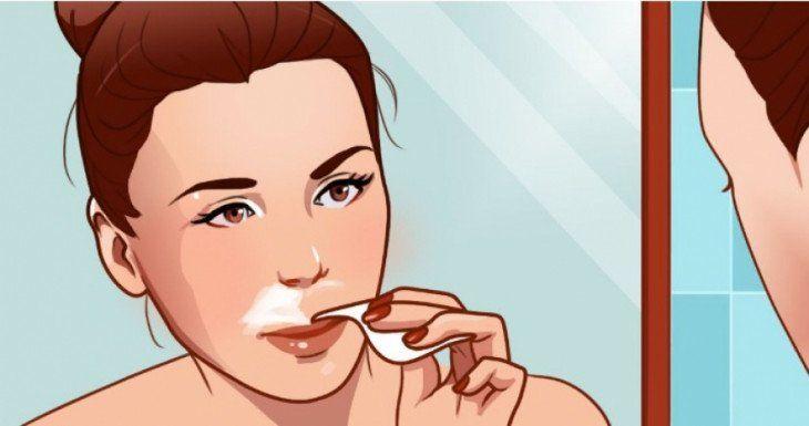 Come rimuovere i baffetti e i peli dal viso usando solo ingredienti naturali