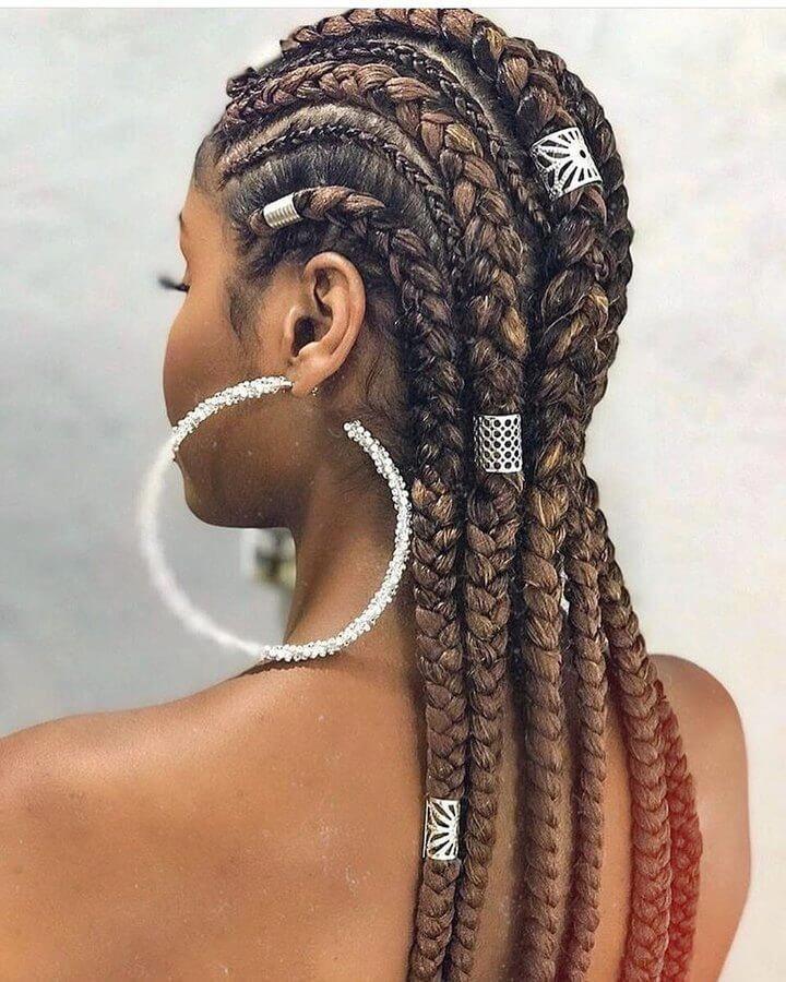 38 Truly Amazing Goddess Braids – BelleTag #goddessboxbraids   – goddess box braids