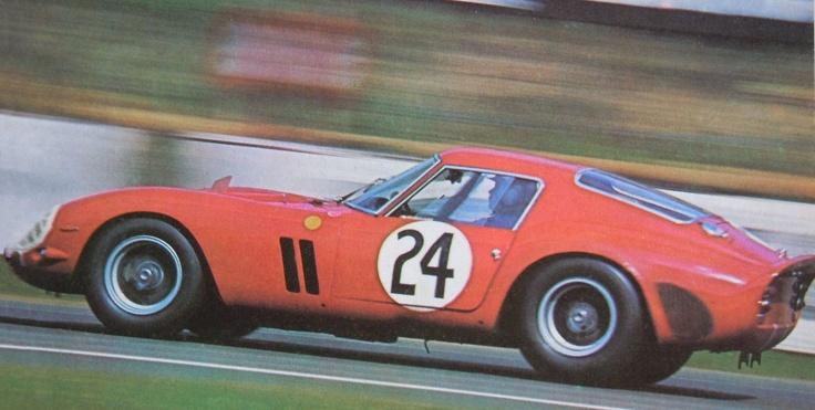 Le Mans 1963 Ferrari 250 Gto Le Mans Pinterest Le