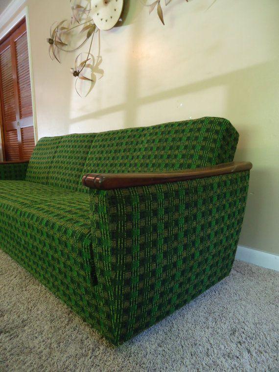 Danish Retro Mid Century Style Sleeper Sofa Bed Daybed Eames Era Modern