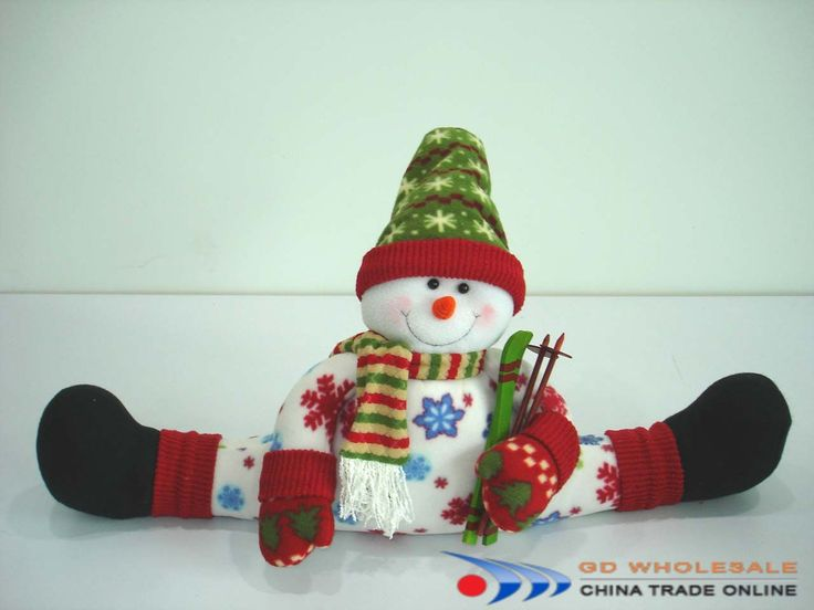 Snowman draft stopper - Keep the cold from seeping under your door or window sill while decorating your home with this adorable draft dodger.
