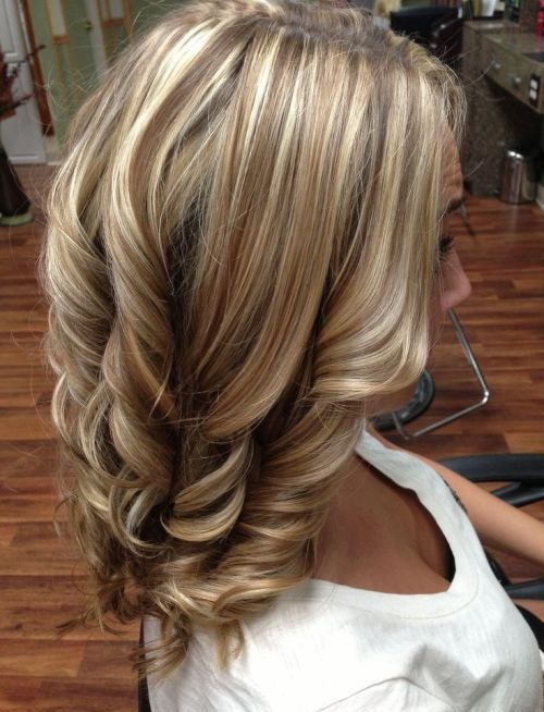 The light Blond Color for shoulder length hairs is very suitable and moreover it is the new trend in market that every one have a desire to look different and elegent