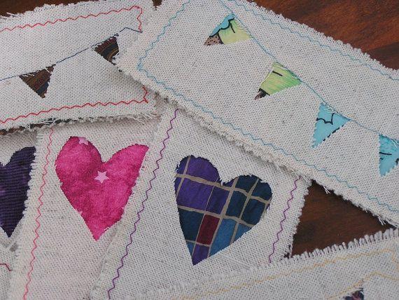 Handmade Fabric Bookmark