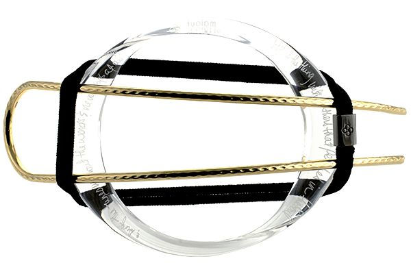 Colette Malouf 'Lucite Hair Hoop' set, £123, colettemalouf.com