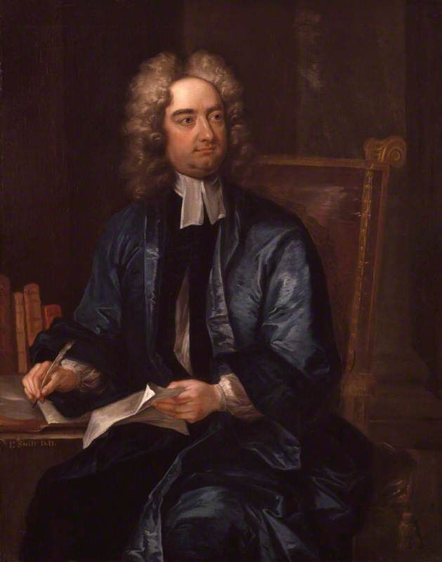 Jonathan Swift (Charles Jervas - 1718)