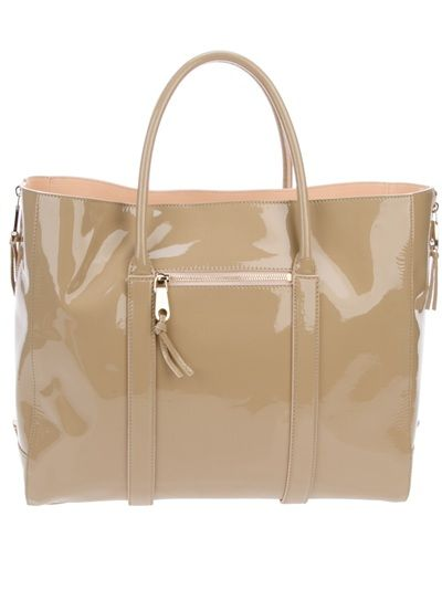 Madelaine Tote Shopper in Elephant available from Changing Room on Far Fetch.