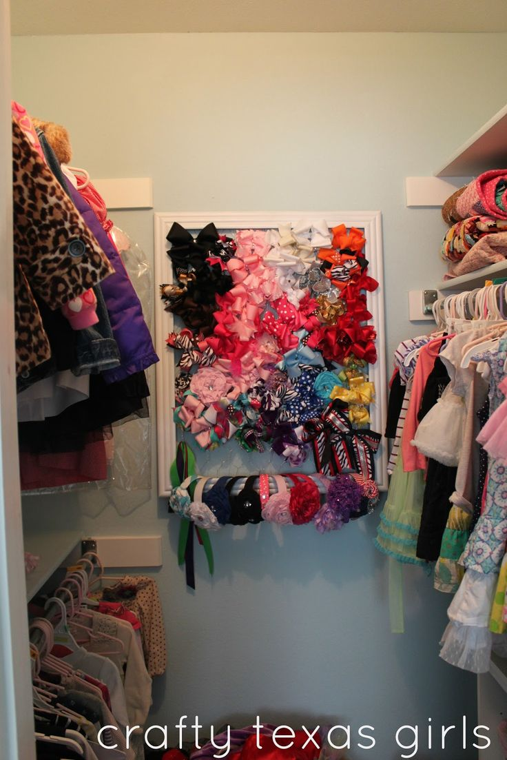 Crafty Texas Girls: Crafty How-To: DIY Hair Accessory Holder