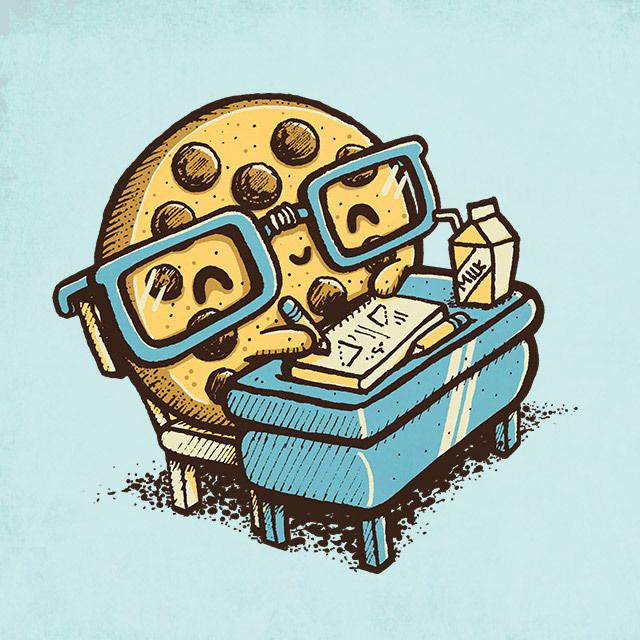 """Smart Cookie - Happy drawings :)"