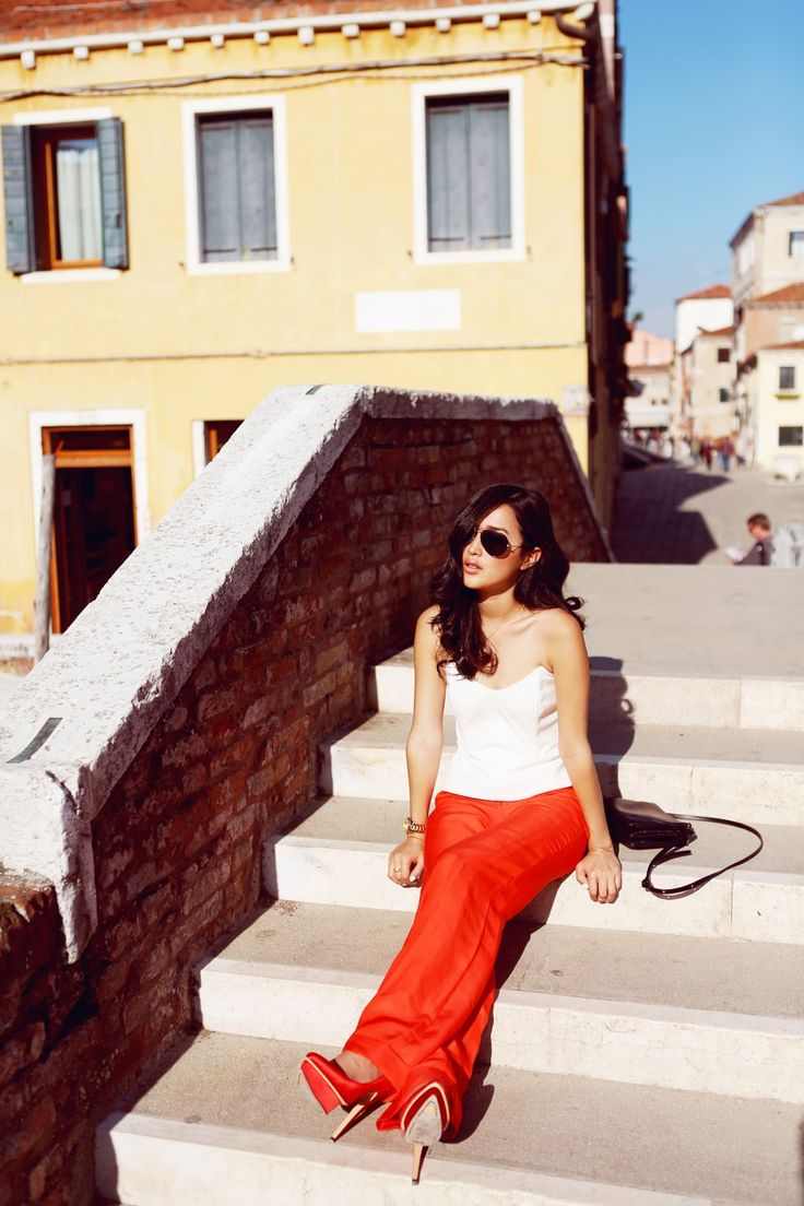 garypepper_coral1 | Venice Fashion Shoot | Pinterest