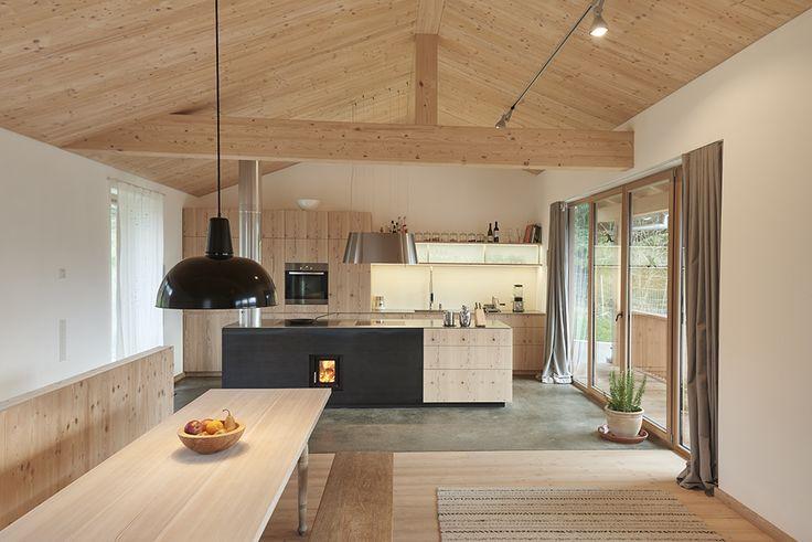 Haus in den Bergen - muenchenarchitektur