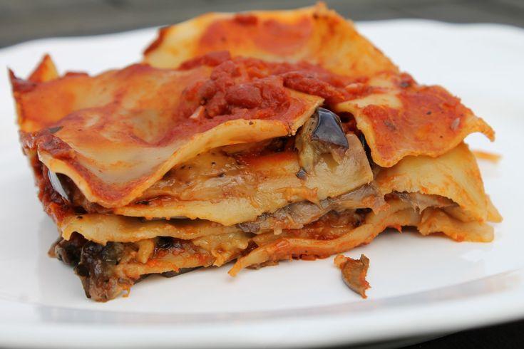 Vegán lasagne
