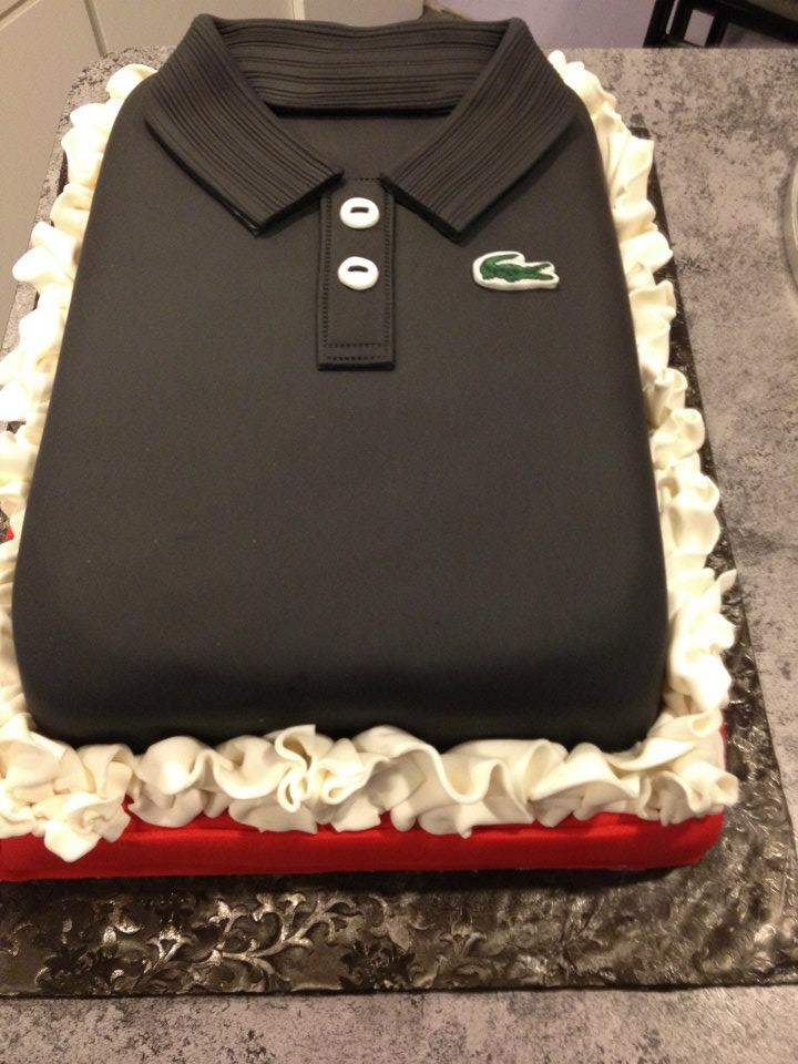Polo Shirt Cake - Izod UOMO Pinterest Cakes, Shirts ...