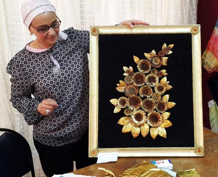 ورشة عمل زهور بمستهلكات عبوات الأدوية (أنابيب المراهم) المعدنية