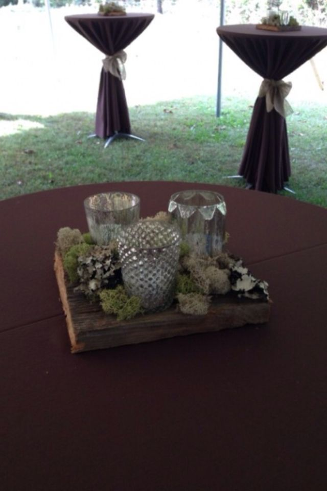 Center piece for cocktail tables