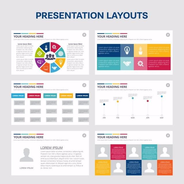 Heading Handshake Chart Red Yellow Blue Bulb Design Infographic Presentation Annual Banner Book Brochure Business Cover Flyer Graph Graphic
