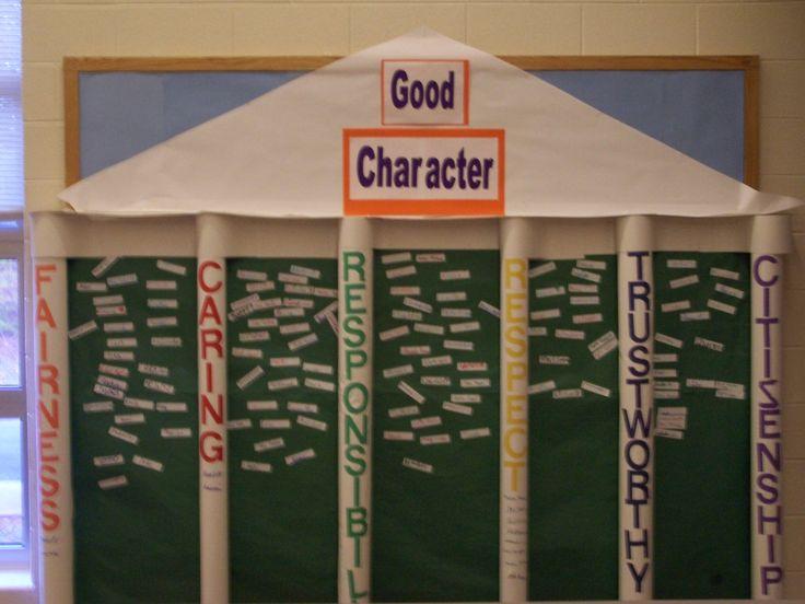 6 Pillars of Character | Pillars of Character Bulletin Board « Ms. Bowman's Dudley Blog
