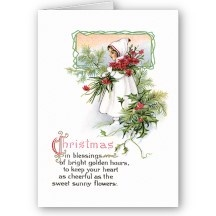 Christmas Blessing ~ Poem Card