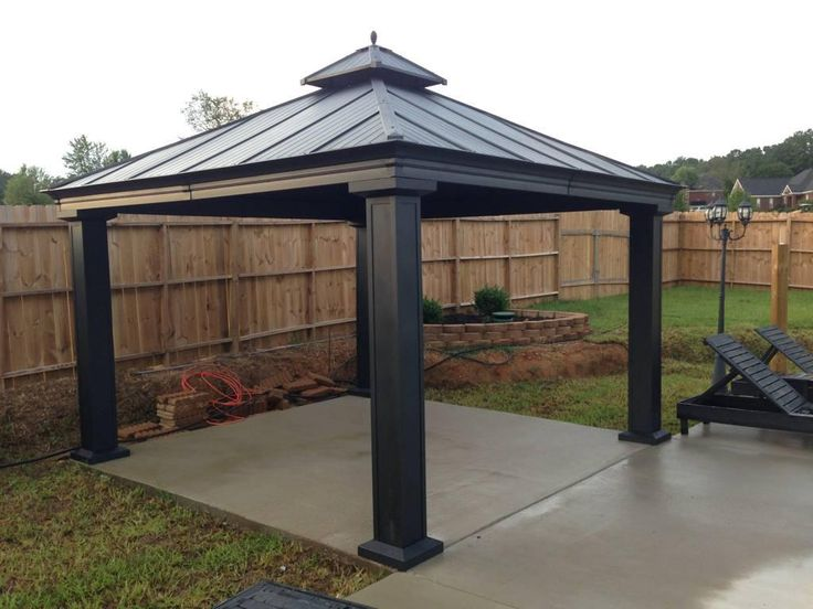 Best Hard Top Gazebo Ideas - http://www.twitter-buttons.com/best-hard-top-gazebo-ideas/ : #HomeIdeas Get and install hard top gazebo ideas to make better home and living that applicable based on your own preferences in how to build a gazebo! Hardtop gazebo for sale can be purchased at Costco, Lowes, Sears and Kmart. Hardtop gazebo 10×10 will be just a simple choice among the available...