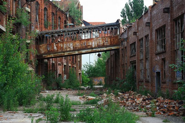 Lost places...I would love to walk around this place.
