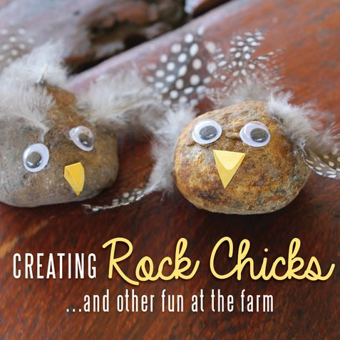 Creating Rock Chicks and other fun at the farm - the craft train - Blog