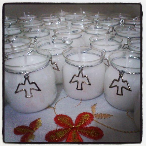 Mini vela Pomba da Paz - avulsa