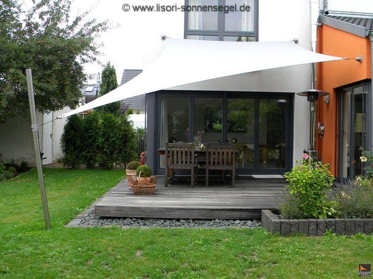 best 20 sonnensegel terrasse ideas on pinterest. Black Bedroom Furniture Sets. Home Design Ideas