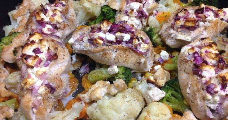 Mennyei Sajtos, lilahagymás csirkemell recept! Finom és egészséges vacsora/ebéd, alig 1 óra alatt! : )