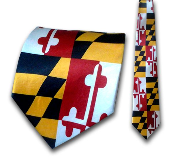 We carry this Awesome Maryland Flag Tie in our Westminster Store! https://www.facebook.com/TheMarylandStore