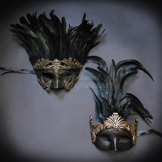4everStore Couples Masquerade Mask Gold Masquerade by 4everstore