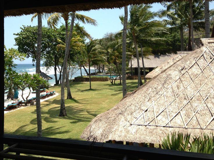 View at Jeeva Klui, Lombok