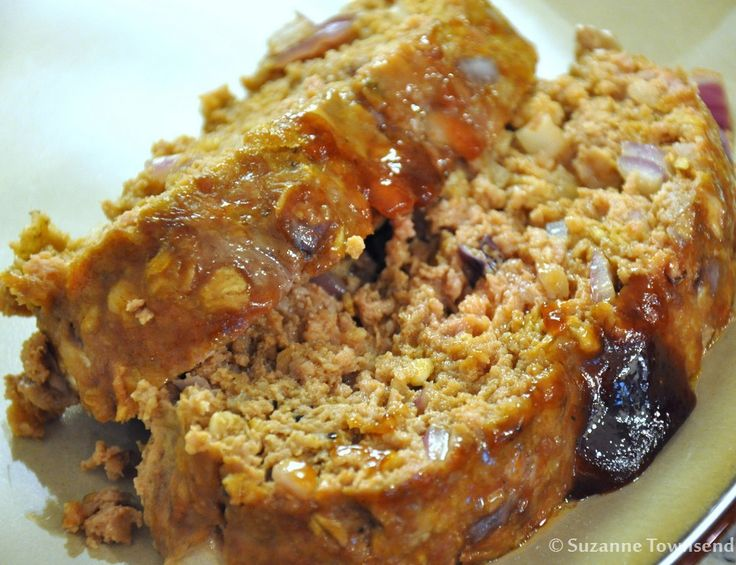 recipe: venison meatloaf with oatmeal [34]