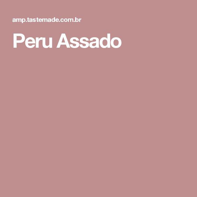 Peru Assado