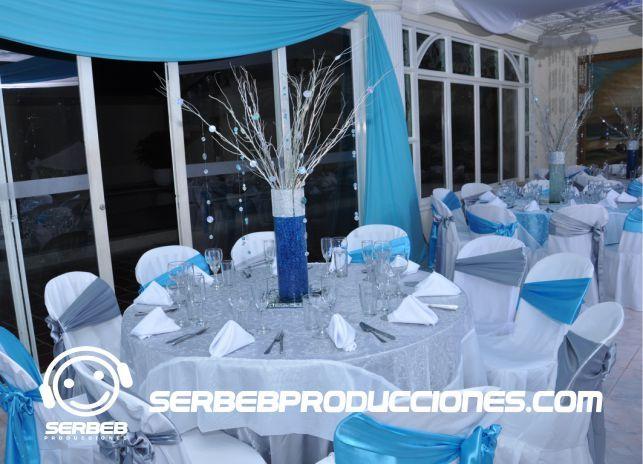 Mesas decoradas para 10 invitados 15 a os pinterest - Mesas de boda decoradas ...