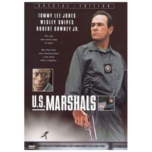 Tommy Lee Jones Wesley Snipes Robert Downey in U.S. Marshals DVD Special Edition