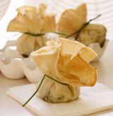 Spinach & Feta Cheese Purses