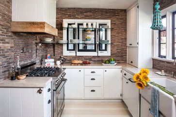 KITCHEN – San Clemente - mediterranean - kitchen - orange county - lisa gutow design