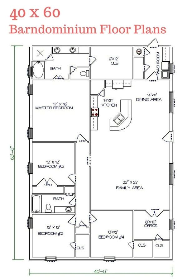 Metal Shop Buildings You Will Love Check Out The Image For Many Metal Building Ideas 68954463 Shop House Plans House Plans Barndominium Floor Plans