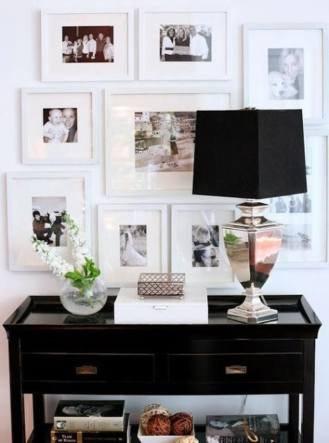 Decorating Ideas :: Photo Wall Inspiration