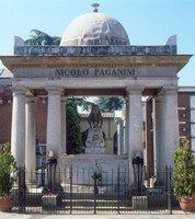 Tomba di Niccolò Paganini e Ildebrando Pizzetti