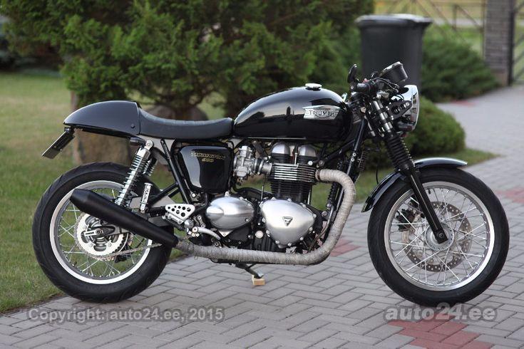 best 25 triumph thruxton 900 ideas on pinterest classic triumph motorcycles triumph bikes. Black Bedroom Furniture Sets. Home Design Ideas