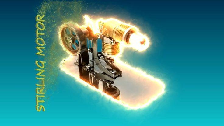Воздушный Двигатель #Стирлинга Двигатель Модель Образовательные Игрушки Наборы