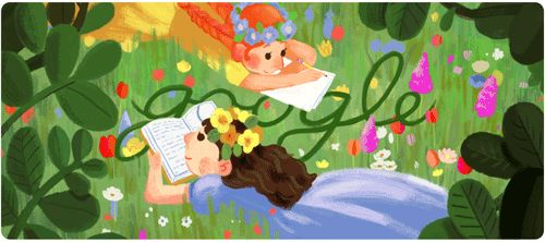 Google Doodle Honors 'Anne of Green Gables' Author Lucy Maud Montgomery