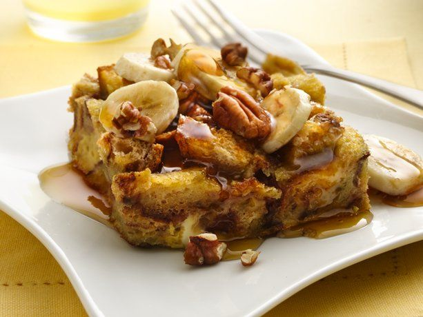 bananas foster french toast.....yummy