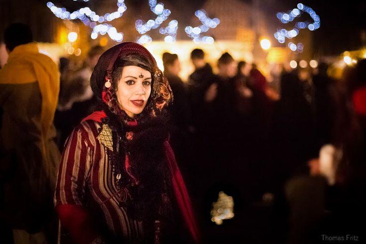 Noël à Provins - Portrait sur le marché médiéval - Photo Thomas Fritz