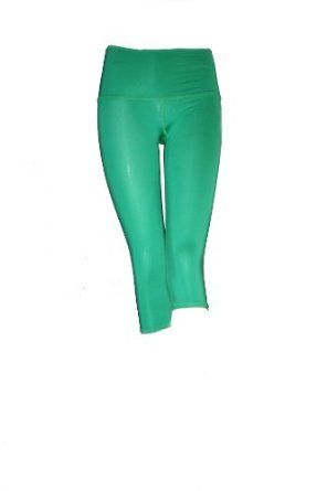 Teeki - Designer Active Wear - Kelly Green Capri - Medium Teeki. $59.95